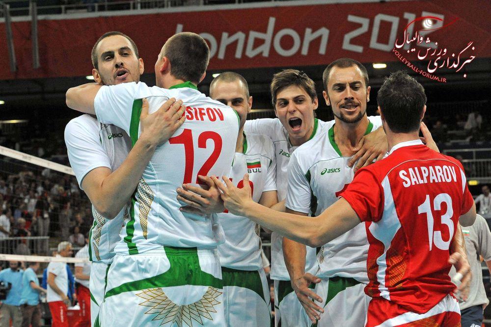 برنامه مسابقات والیبال مردان المپیک 2012 لندن/پنج شنبه 12 مرداد ماه
