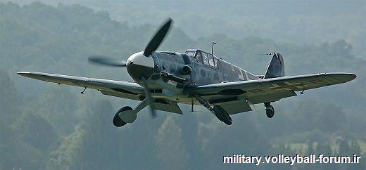 جنگنده Messerschmitt Bf 109/بهترین هواپیمای جنگنده آلمانی در جنگ جهانی دوم !