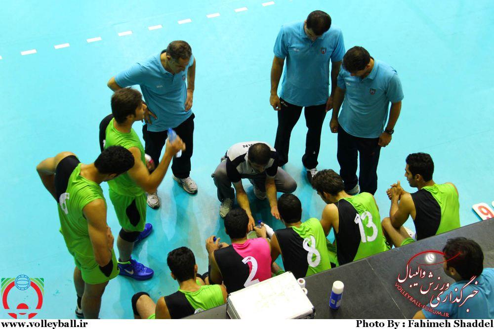 گزارش تصویری از تمرین تیم ملی والیبال جوانان ایران